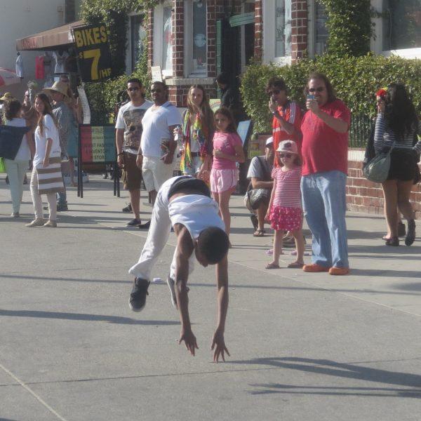 boardwalk performer
