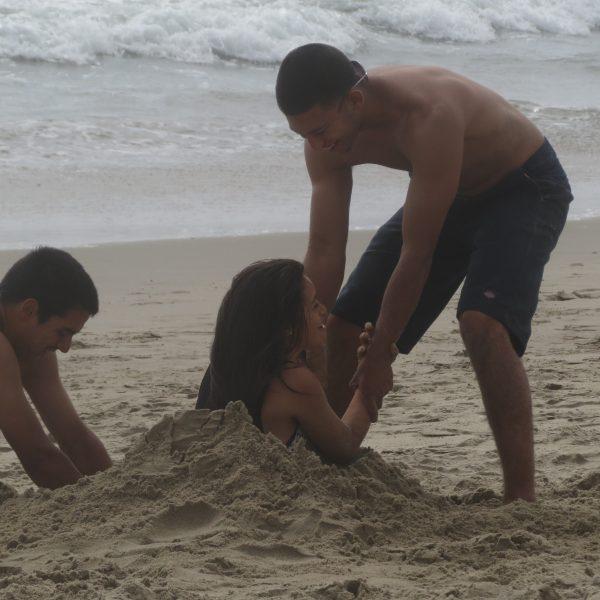 girl buried
