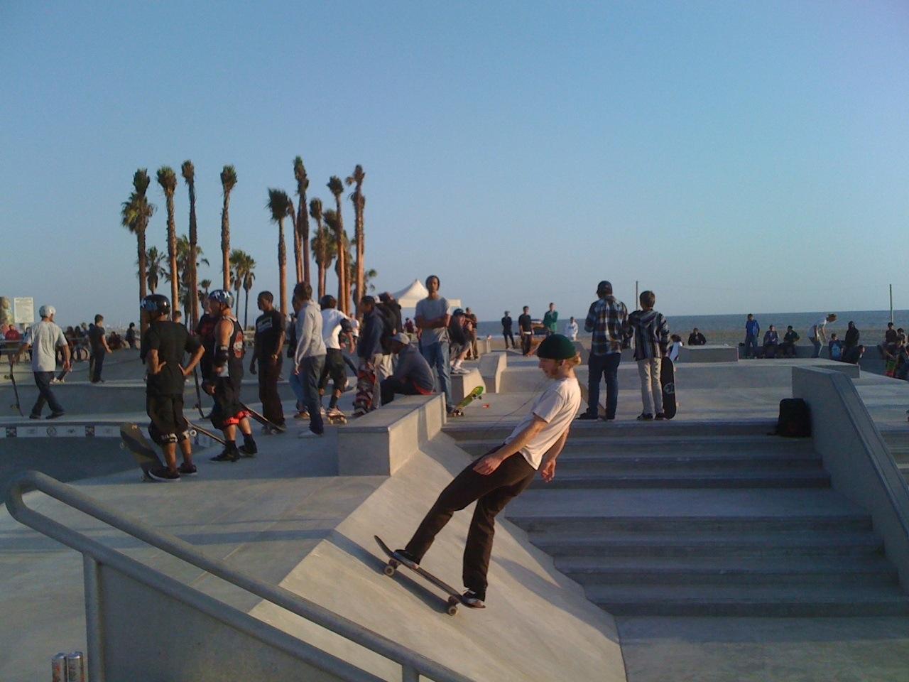 skateboard hang